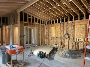 adding a vaulted ceiling in home renovation