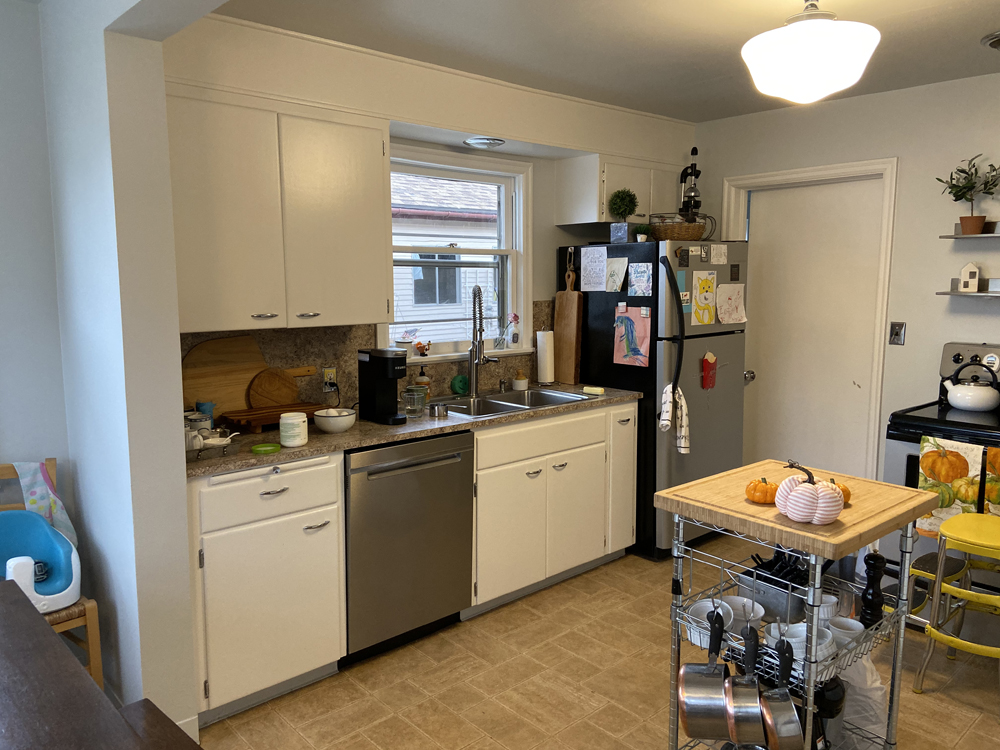 """traditional home kitchen """"before"""""""