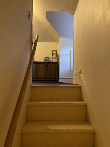 stairs of historic home