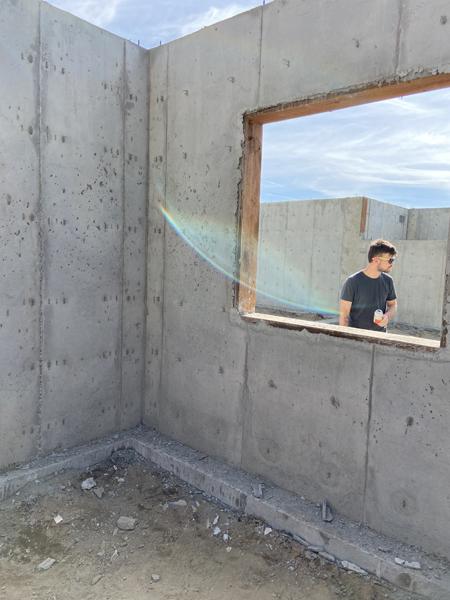 lowered egress window
