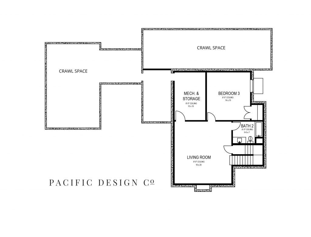 pdco home basement floor plan