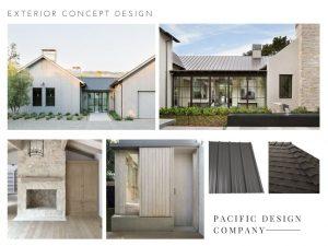 modern exterior design concept