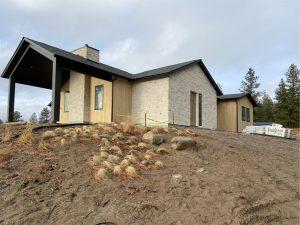 stone exterior modern home
