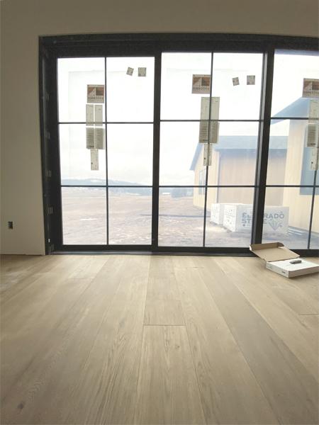 natural oak floors