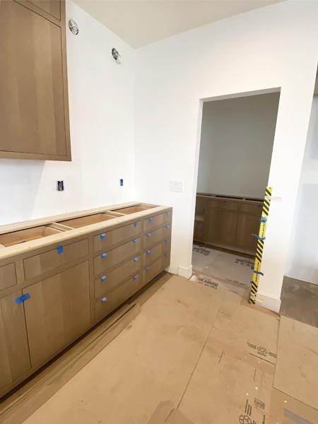 white oak inset cabinets