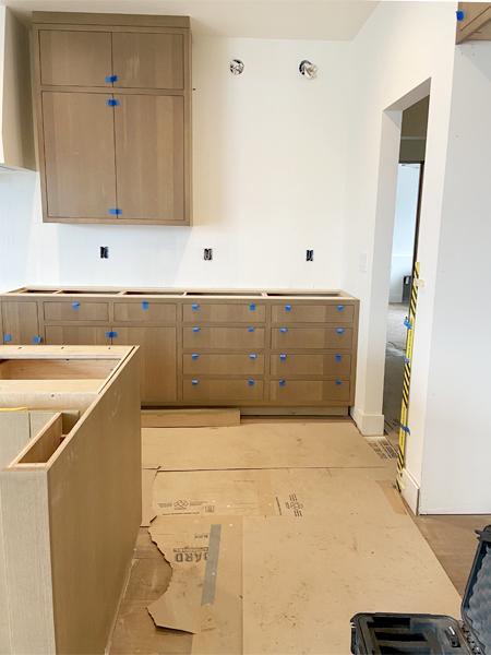 oak cabinet drawers