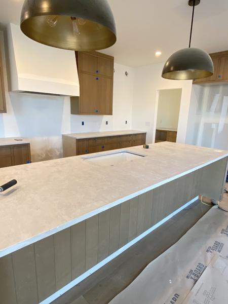 quartz counter installation