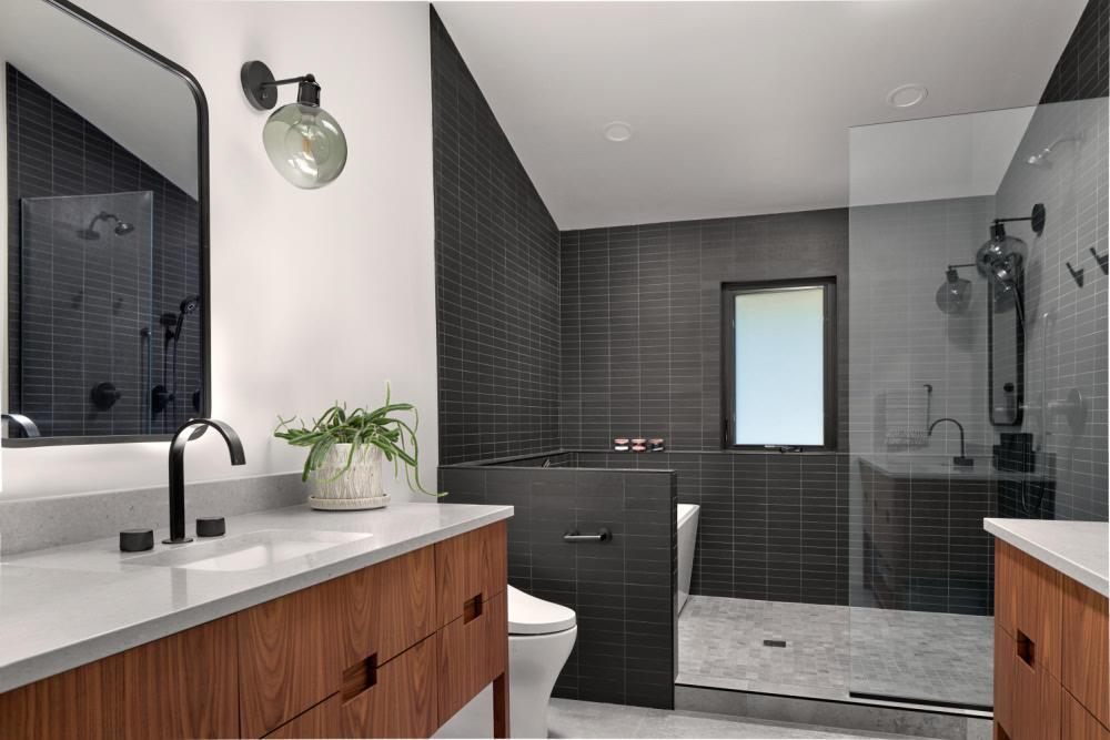 modern bathroom design spokane