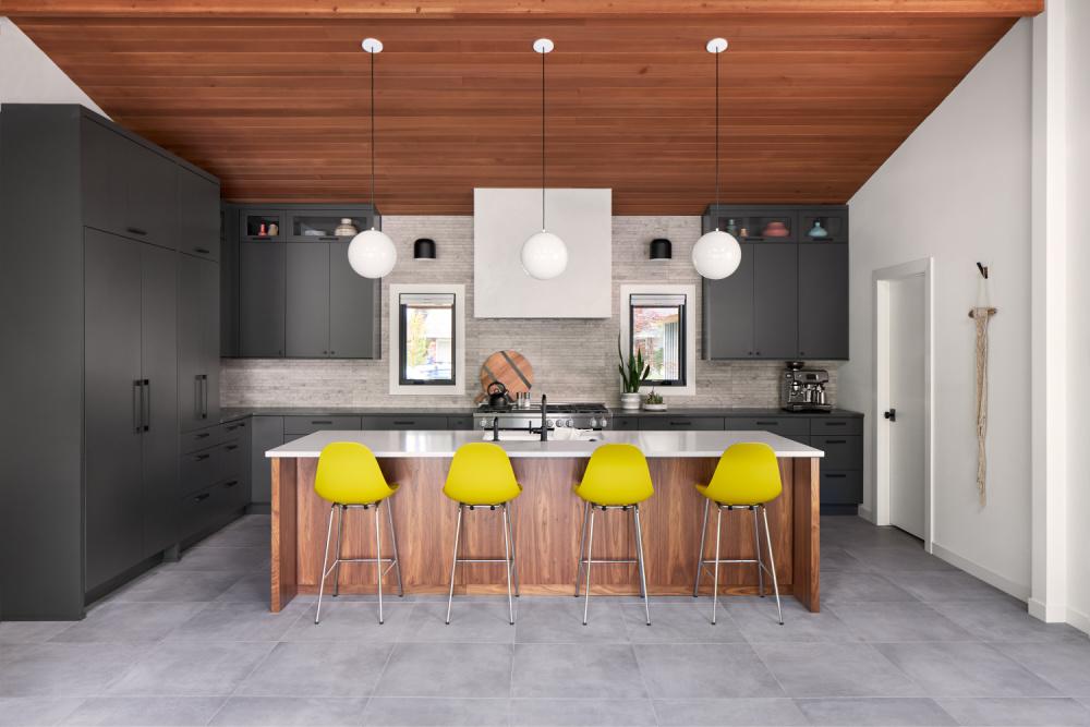 spokane midcentury modern kitchen