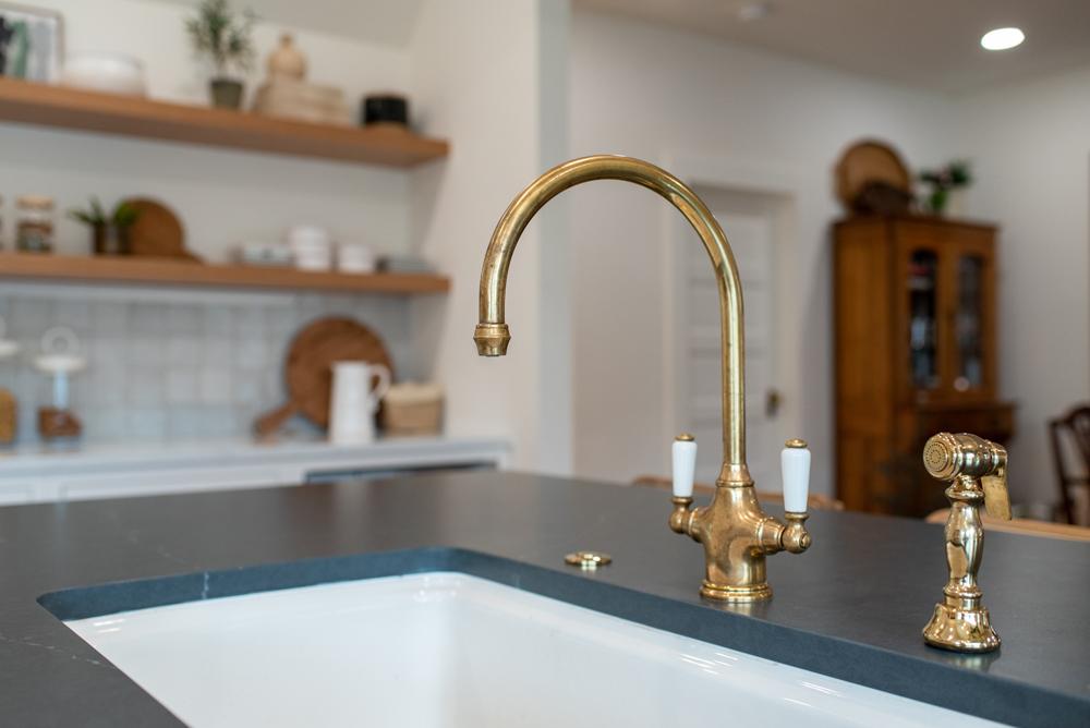 Brass vintage faucet